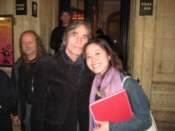 With Jackson Browne (2009)