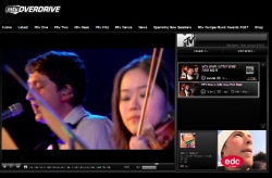 MTV with Young Knives (2008)